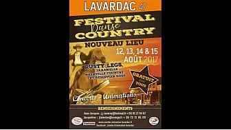 08.17 #Lavardac 2ème épisode : Festival #country animation 1 #tvlocale.fr