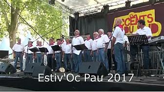 Estiv'Oc 2017 #Pau : le groupe #Lagunt Eta Maita #tvlocale.fr