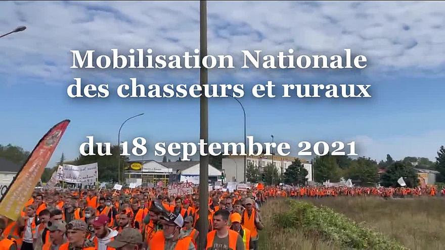 TV Locale Hauts-de-France sur Smartrezo :  Discours de Willy Schraen Président de la Fédération Nationale des Chasseurs à la Mobilisation du 18 septembre 2021 à Amiens. @WillySchraen @ChasseursFrance