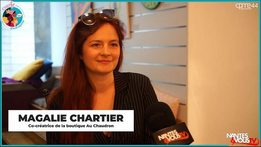 TV Locale Nantes & Vous sur Smartrezo : Femme Cheffe d'Entreprise - MAGALI CHARTIER - Au Chaudron @cpme44