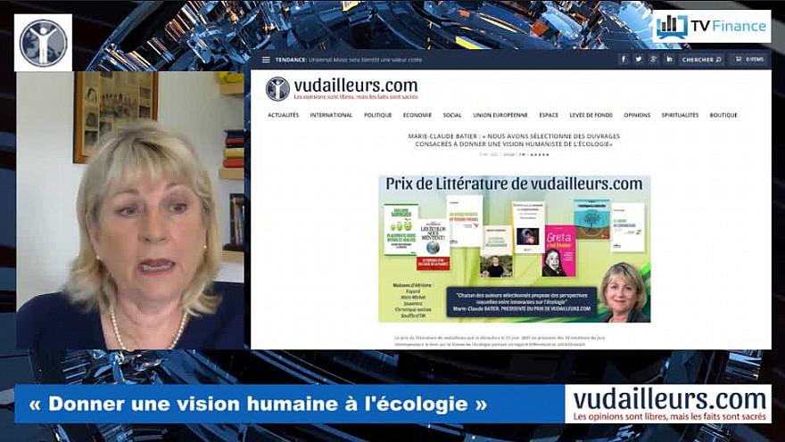 Marie-Claude Batier : « l'écologie doit être universelle »